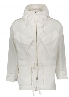 Monitaly Expedition Half Coat - Oxford White