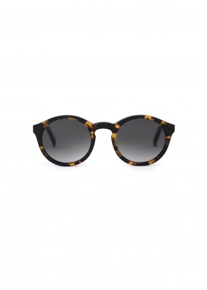 Monokel Eyewear Barstow Sunglasses - Havana With Gradient Grey Lenses