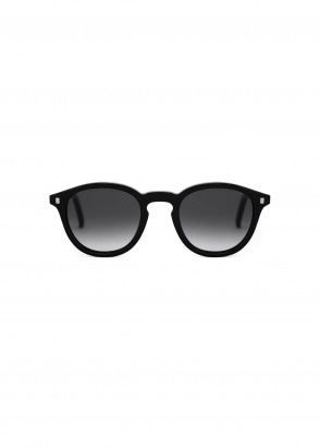 Monokel Eyewear Nelson Sunglasses - Black With Gradient Grey Lenses