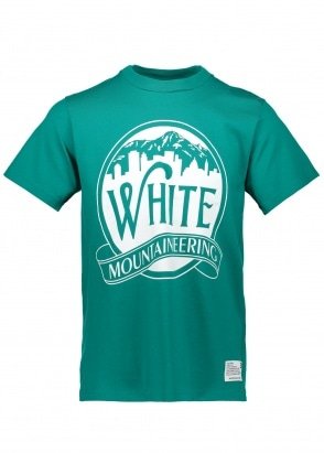 White Mountaineering  Mountains & Buildings Tee - Green