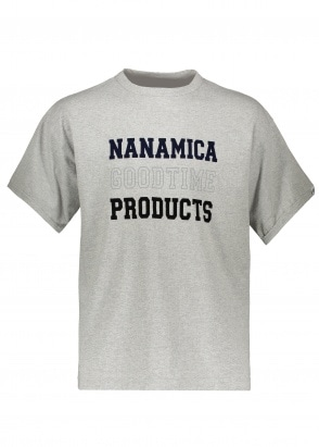 Nanamica Products Tee - Heather Grey