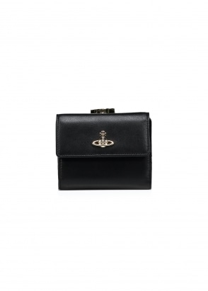 Vivienne Westwood Accessories Nappa Medium Wallet - Black
