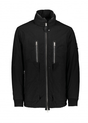 Stone Island Shadow Project Naslan Ripstop Zip Jacket - Black
