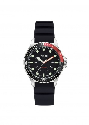 Timex Navi Depth - Steel / Black