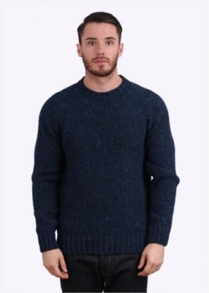 Barbour Netherby Crew Jumper - Blue