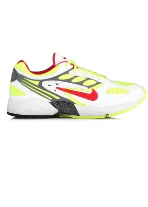Nike Footwear Air Ghost Racer Trainers - White / Atom Red