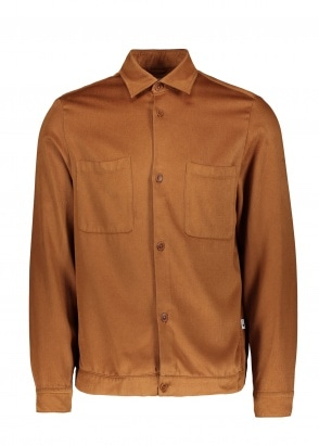 NN07 Drake Shirt - Brown