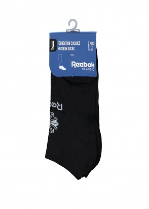 Reebok No Show Sock - Black