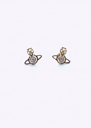 Vivienne Westwood Accessories Nora Earrings - Gold