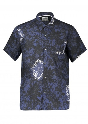 Norse Projects Carsten Flower Print - Twilight