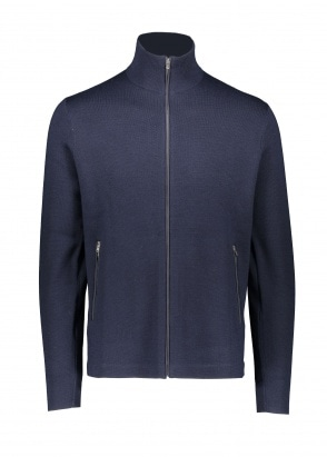 Norse Projects Fjord Tech Cardigan - Dark Navy