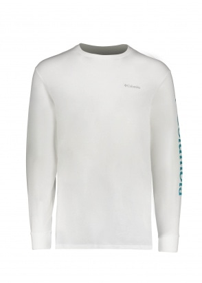 Columbia North Cascades LS Tee - White