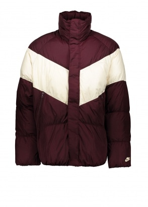 Nike Apparel NSW Down Fill Jacket - Burgundy