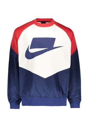 Nike Apparel NSW NSP Crew - Blue Void / Red