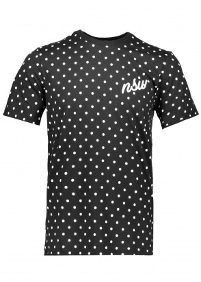 Nike Apparel NSW Tee - Black / White