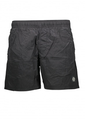 Stone Island Nylon Metal Swim Shorts - Black