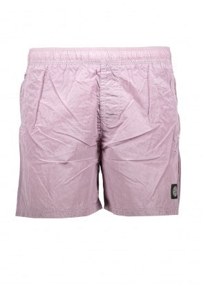 Stone Island Nylon Metal Swim Shorts - Rose Quartz
