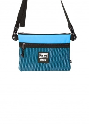 Obey Conditions Side Bag - Pure Teal