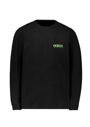 Eden Power Corp Ocean Recycled LS - Black