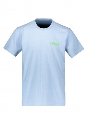Eden Power Corp Ocean Recycled T-Shirt - Light Grey