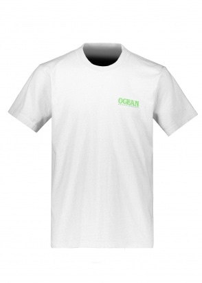Eden Power Corp Ocean Recycled T-Shirt - White
