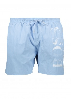 BOSS Bodywear Octopus Shorts - Light Pastel Blue