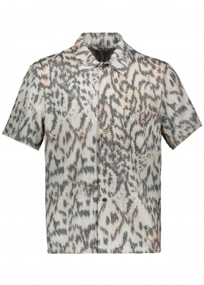 Our Legacy Box SS Shirt - Tiger Print