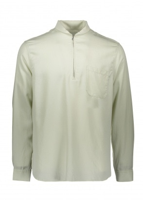 Our Legacy Shawl Zip Shirt - Dirt White