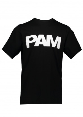 Perks and Mini P.A.M S Loops Logo Tee - Black