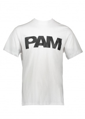 Perks and Mini P.A.M S Loops Logo Tee - Optic White