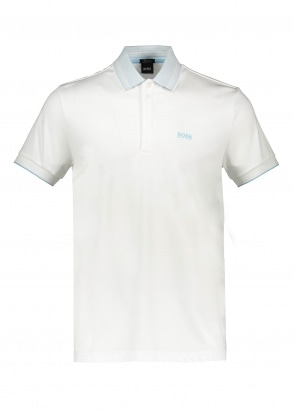 Boss Paddy 1 Polo - White