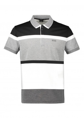 Boss Paddy 4 Polo Shirt - Black