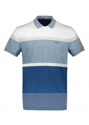Boss Paddy 4 Polo Shirt - Bright Blue