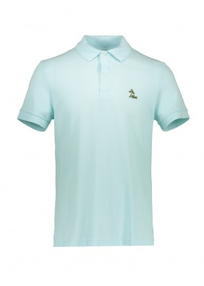 Lacoste Palm Logo Polo - Aquarium