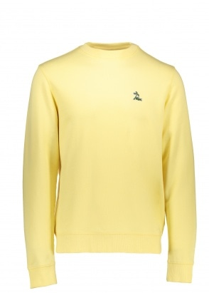 Lacoste Palm Logo Sweater - Napolitan Yellow