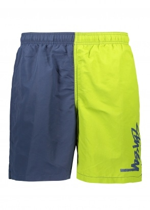 Stussy Panel Water Shorts - Navy