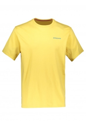 Patagonia Flying Fish Tee - Surfboard Yellow