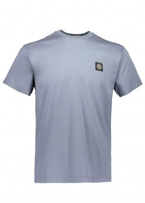 Stone Island Patch Logo Tee - Dark Blue