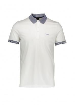 Boss Paule Polo 100 - White