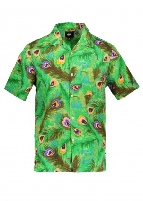 Stussy Peacock Shirt - Green