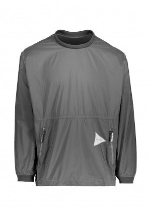 And Wander  Pertex Wind Long Sleeve - Black