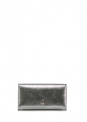 Vivienne Westwood Accessories Pimlico Long Wallet - Silver