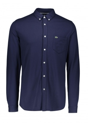 Lacoste Pocket Shirt - Navy Blue