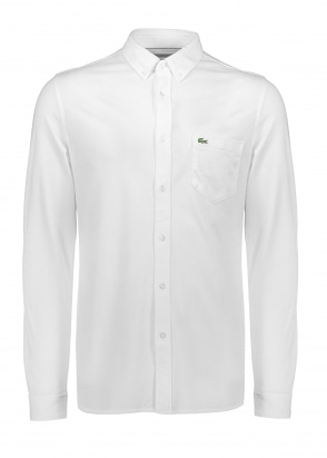 Lacoste Pocket Shirt - White