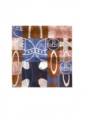Vivienne Westwood Accessories Pocket Square 70 x 70 - Navy