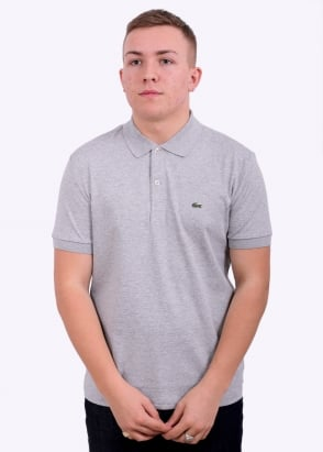 Lacoste Polo Shirt - Silver Chine