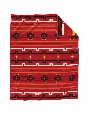 Pendleton Preservation Series Robe - Red