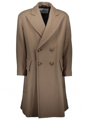 Vivienne Westwood Mens Prince Coat - Military Green