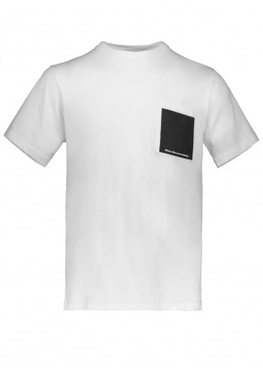 White Mountaineering  Printed Pocket Tee - White