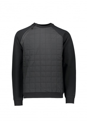 Nike Apparel Quilted Sweater - Black